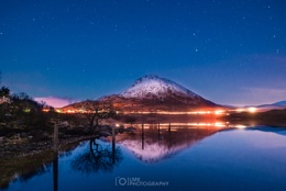 Errigal's Blue Hour