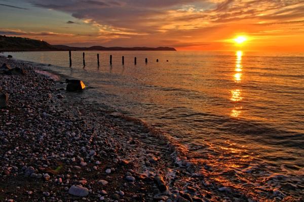 Llanddulas sunset by pks