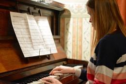 Piano practice