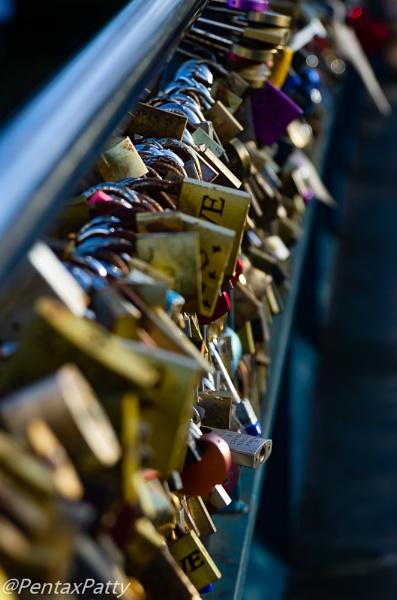 Love locks. by pentaxpatty