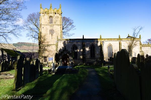 St. Edmunds Church in Castleton. by pentaxpatty