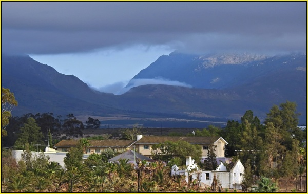 Dawn over Tulbagh