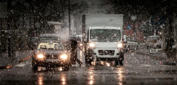 Winter Scene XXVII by MileJanjic