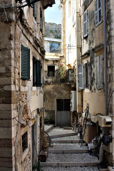 Backstreet Corfu Town by PeterAS