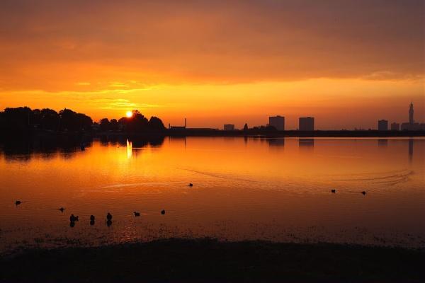 Birmingham Sunrise by eyewhy