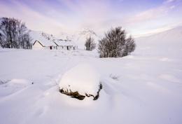 Blackrock Cottage at Dawn.