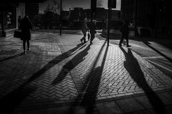 Saturday Shadows IX by optik