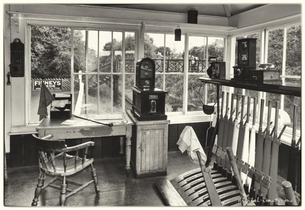 Beamish Station Signal Box by Alan_Baseley