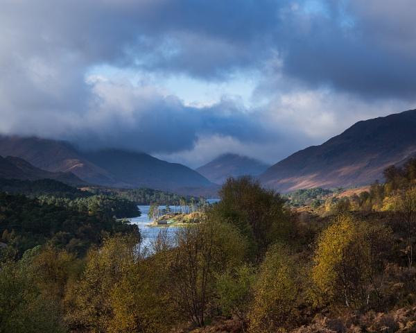 Loch Affric by Juditha