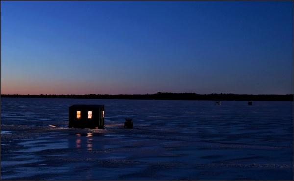 Night fishing by djh698