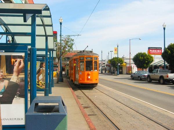 Tram Stop by voyger1010