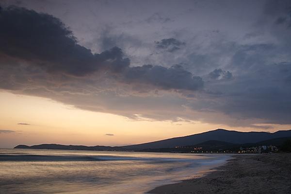 Sunset at Potos Beach Thasos by KevRobo