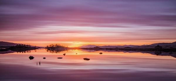 Lochan Sunrise by Jedross