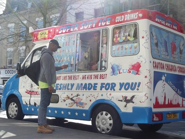 Ice Cream Man by wsh