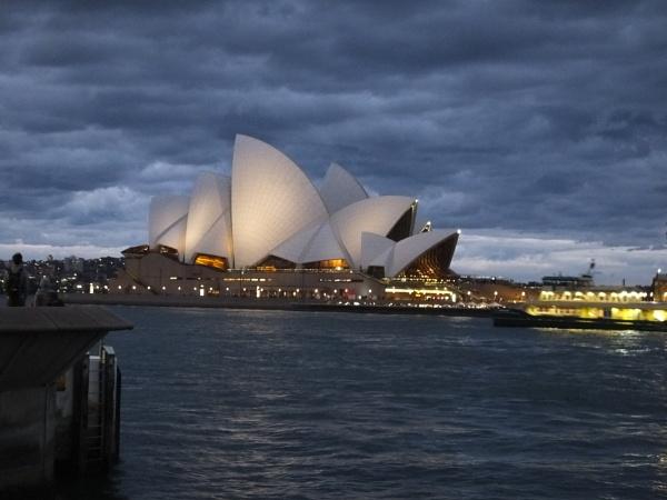 Sydney Opera House at dusk - Australia by patrickmcnally