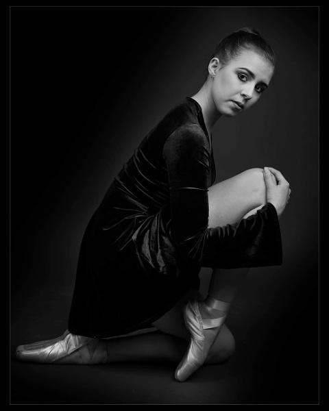 Ballet Portrait by sidcollins