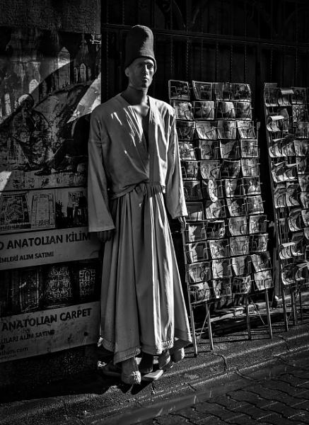 Mannequin Dressed as Semazen by nonur