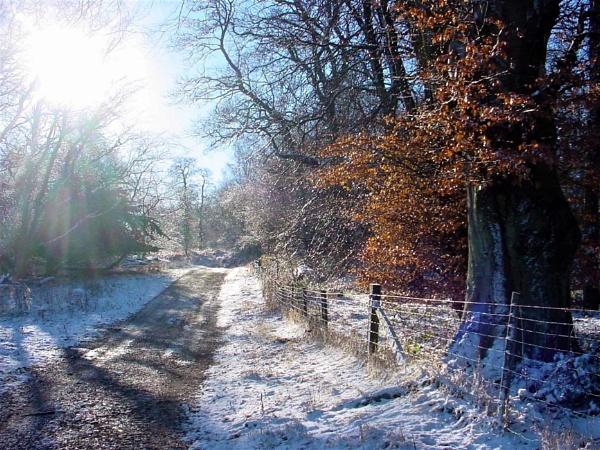WINTER ON BROWN CLEE by JOKEN