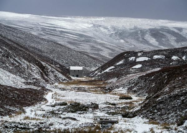 Winter Lead Mill by hwatt