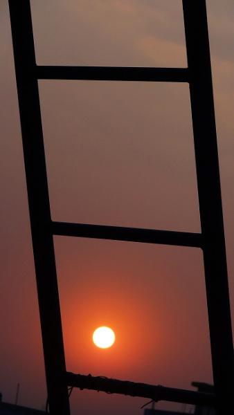 """ THE SETTING SUN """