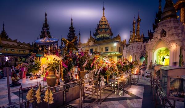Buddhist Temple - Yangon