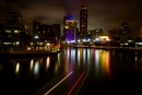 Light trails by ColleenA