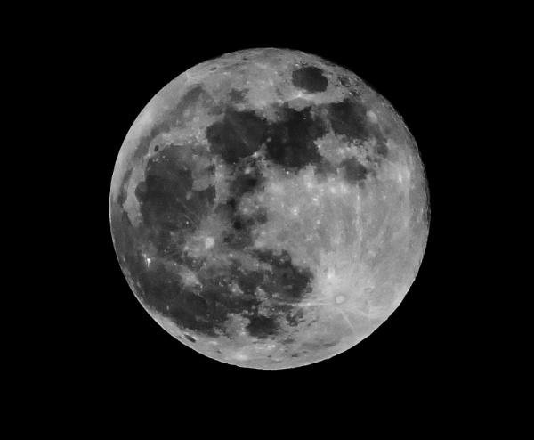 The Moon by Nikonuser1