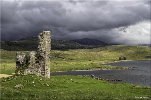 Ruins of Ardvreck Castle, Lairg