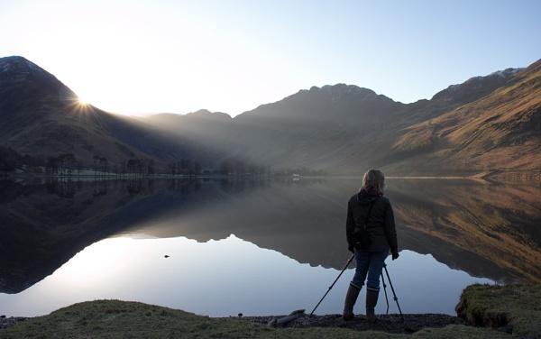 Buttermere Lake Sunrise by SocksAndStuff