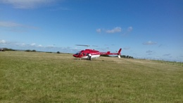 eastbourne helicopter ride