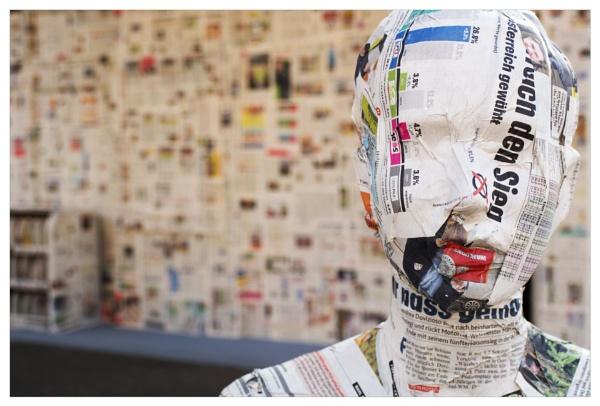 dressed in newspaper (Part IV)