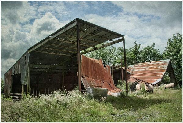 Corrugated Crash Site