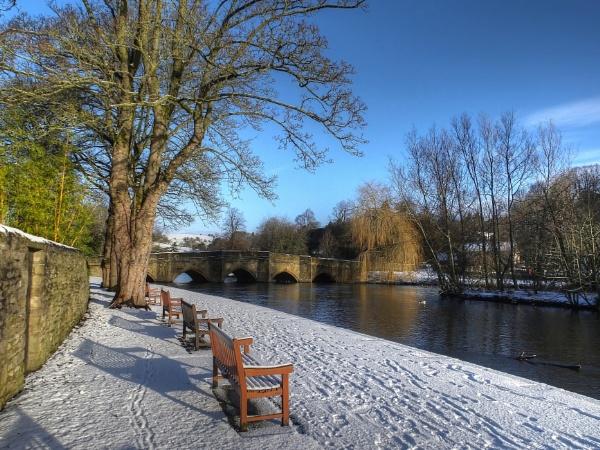 Wintery Wye by ianmoorcroft