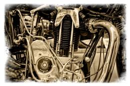 1928 Sunbeam Model 90 motor cycle engine