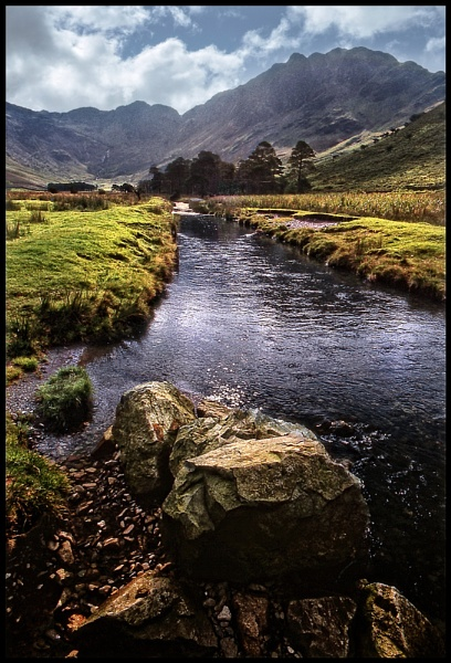 Warnscale Beck, Butterwmere. by Niknut