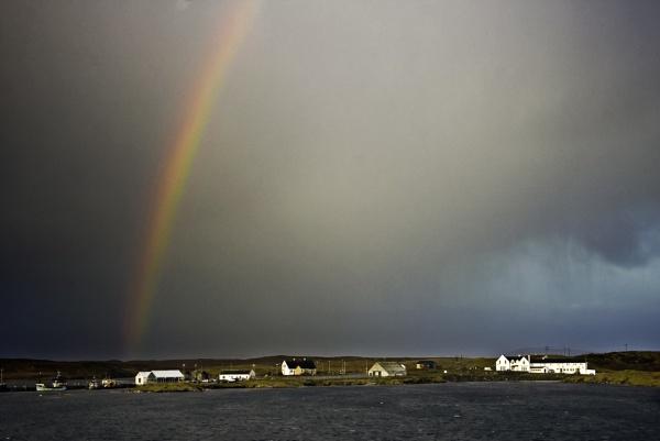 Rainbow - Lochmaddy by munroman