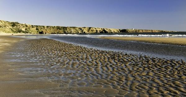 St Cyrus Beach near Montrose by munroman