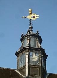 Atop Lambeth Palace