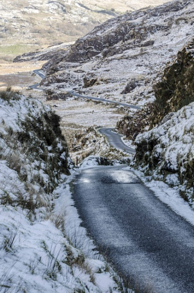 Ballaghbeama pass in County Kerry.Ireland. by Brianf
