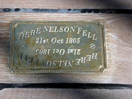 HMS Victory. where Nelson fell