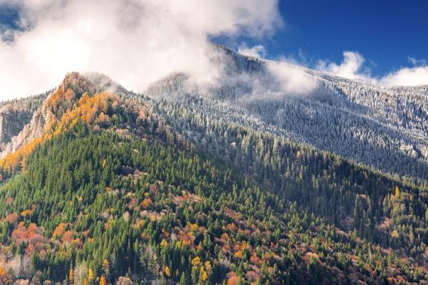Two seasons on Ceahlau peak. by byman