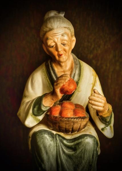 The Orange Seller by martin174