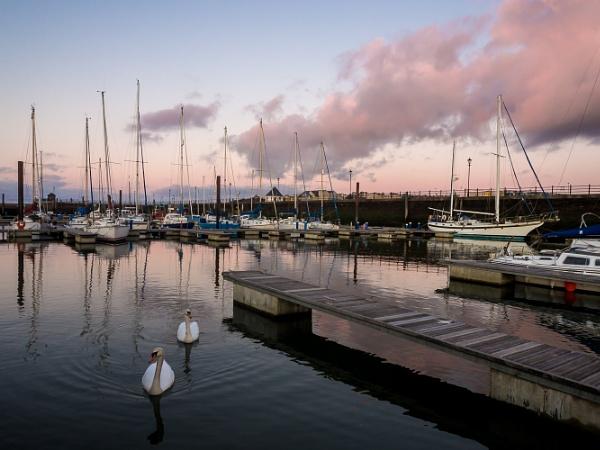 Maryport Marina sunset by Sue_R
