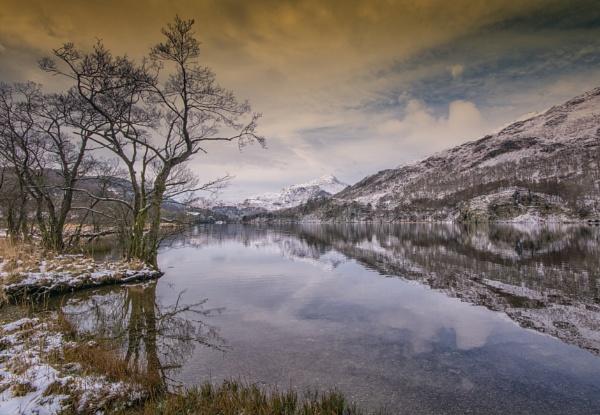 Winter at Llyn Gwynant by Brenty