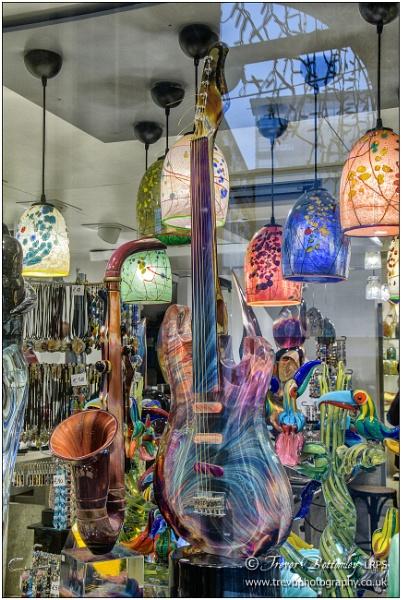 Colourful Glassware by TrevBatWCC