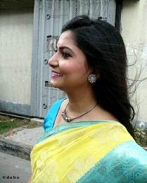 Side Face Of Beautiful Anubha