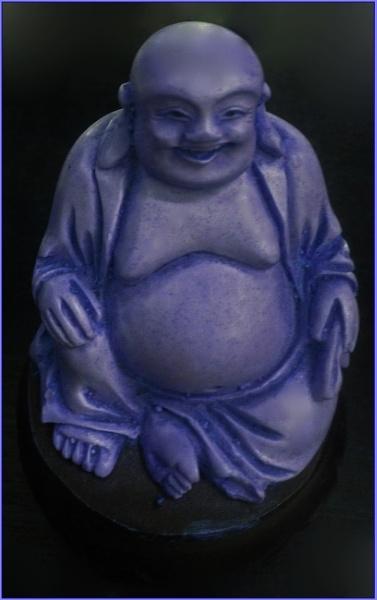 blue buddha...