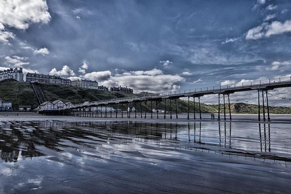 Saltburn Pier by danbrann