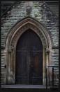 Church Door by Morpyre