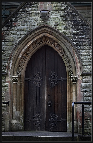 Church Door by Morpyre